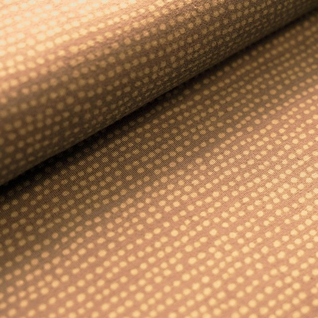 Biojersey Dotted Line - taupe