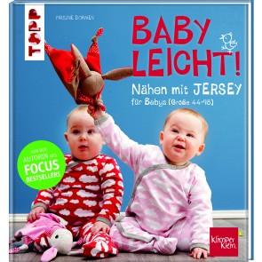 Babyleicht nähen mit Jersey von Größe 44 -98
