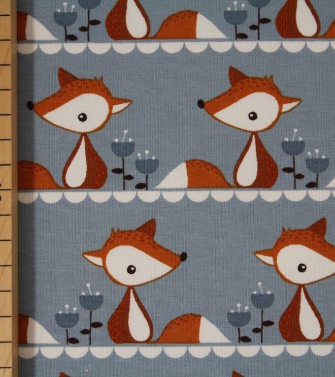 Biojersey Little Fox grau