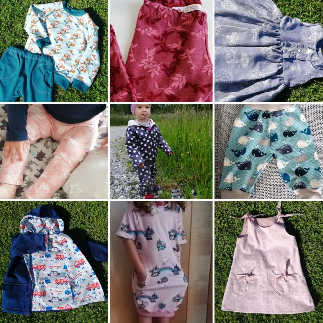 Kleidung und Accessoires von 0-7