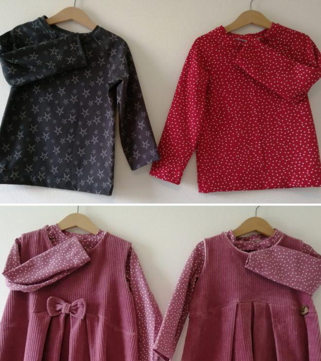 Kleider, Leggins, Shirts , Westen & Babykleidung auf Bestellung