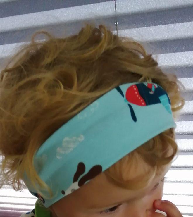 jungstaugliches Stirnband 1-2 Jahre (ca. 47-49KU)