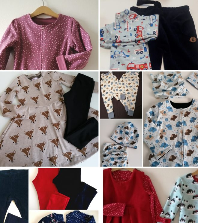 Kleider & Röcke, Leggins & lässige Hosen, Kurz- & Langarmshirts , Westen & Babykleidung
