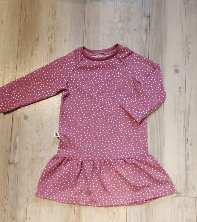 Kleid mit Raglanärmeln ab Gr. 74